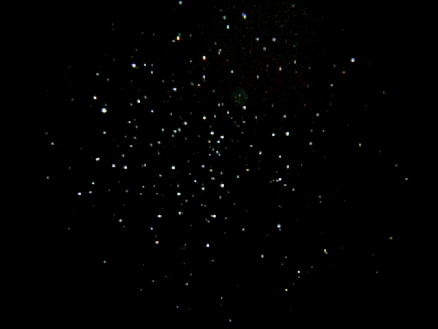 M46 1 min; ISO 800; 25mm eyepiece; 1-22-04